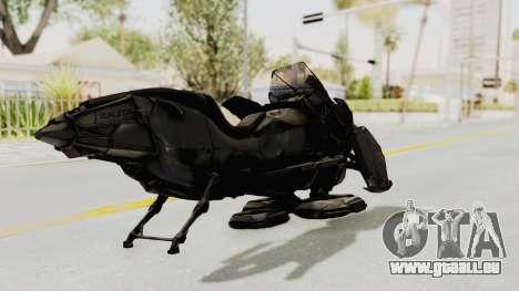 CoD Advanced Warfare - Hover Bike pour GTA San Andreas sur la vue arrière gauche