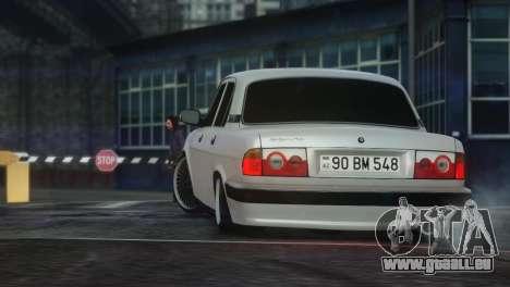 GAZ 31105 Tuning Aze Style pour GTA 4 est un droit