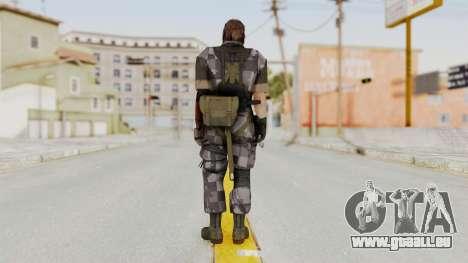 MGSV The Phantom Pain Venom Snake Square pour GTA San Andreas troisième écran
