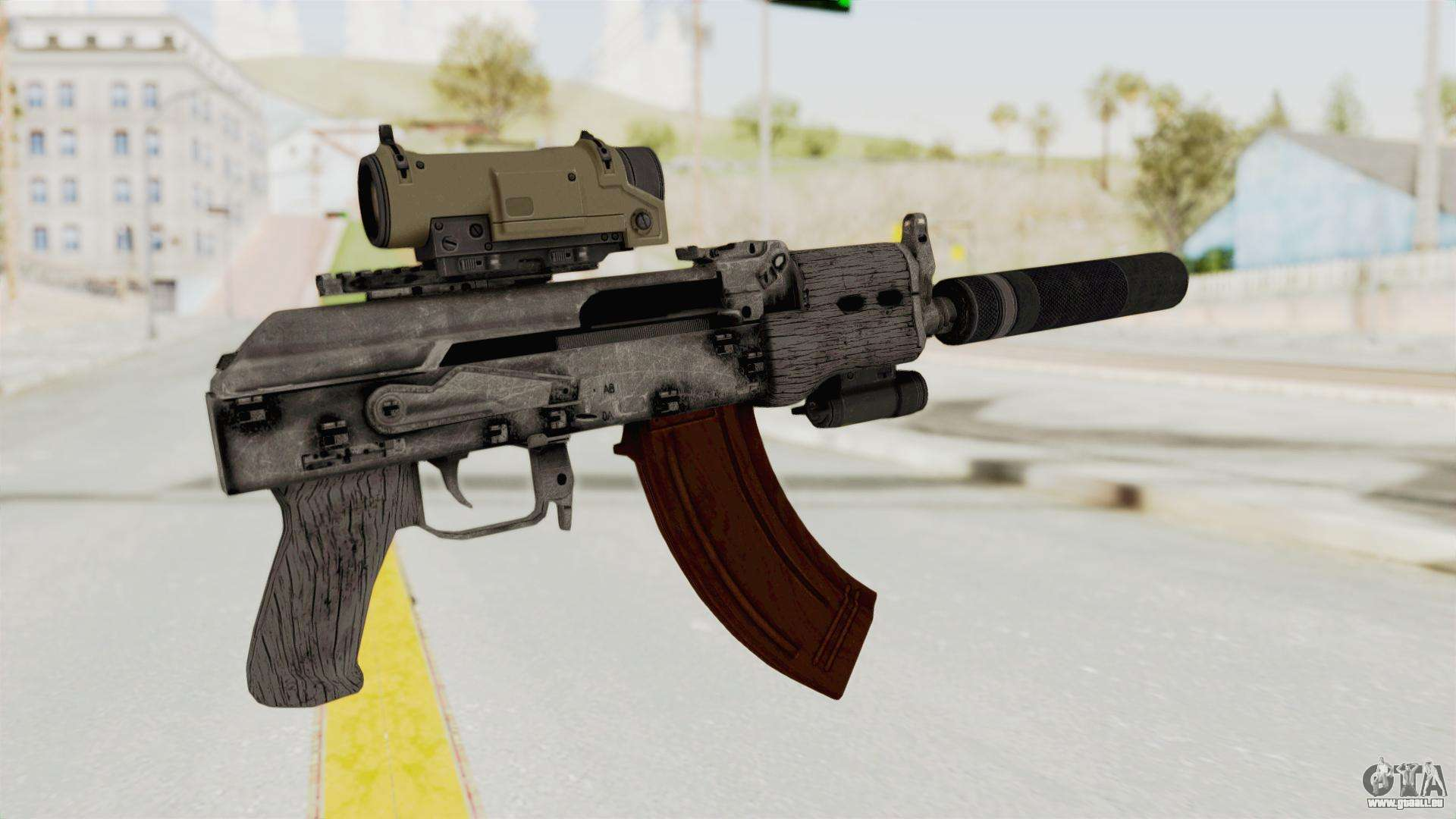 chams armes de combat eu installer