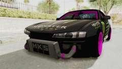Nissan Silvia S14 Drift Monster Energy Falken pour GTA San Andreas