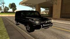 Mercedes G63 Biturbo für GTA San Andreas