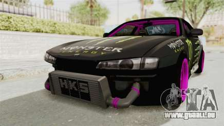 Nissan Silvia S14 Drift Monster Energy Falken für GTA San Andreas