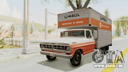 Ford F-350 U-Haul 1971 für GTA San Andreas