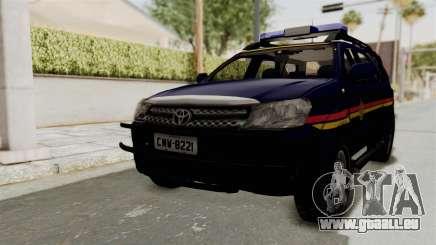 Toyota Fortuner JPJ Dark Blue für GTA San Andreas