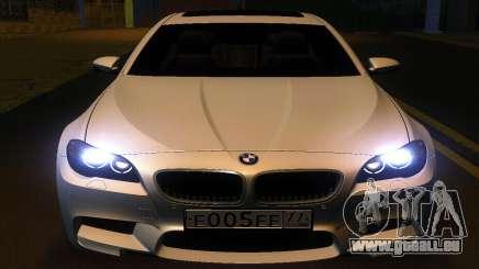 BMW M5 F10 2012 pour GTA San Andreas