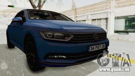 Volkswagen Passat B8 2016 Highline IVF pour GTA San Andreas