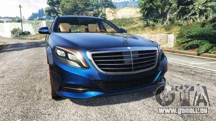 Mercedes-Benz S500 (W222) [yokohama] v2.1 für GTA 5