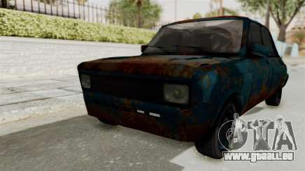 Zastava 1100 Rusty pour GTA San Andreas