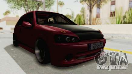 Peugeot 106 V2 RWD Greek Style pour GTA San Andreas