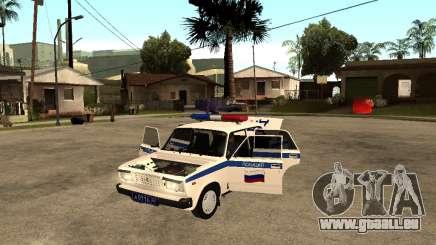 VAZ 2107 DPS pour GTA San Andreas