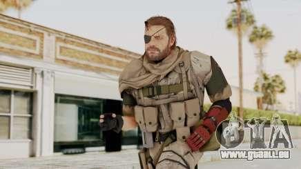 MGSV The Phantom Pain Venom Snake Scarf v3 pour GTA San Andreas