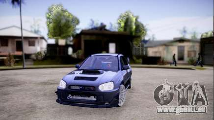 Subaru impreza WRX STi LP400 v2 für GTA San Andreas