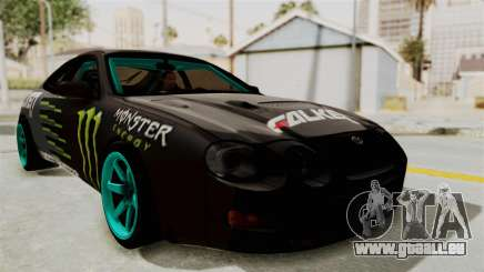 Toyota Celica GT Drift Monster Energy Falken pour GTA San Andreas