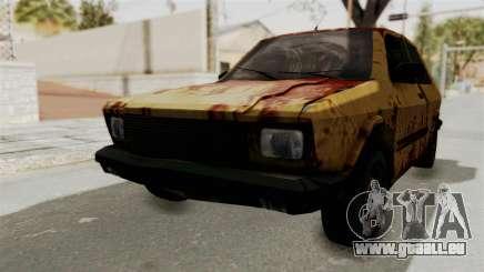 Zastava Yugo Koral 55 Rusty für GTA San Andreas