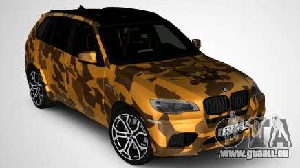 BMW X5M ( Davidich ) für GTA San Andreas
