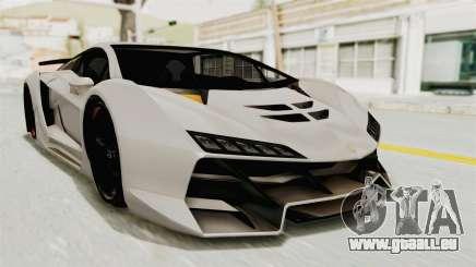 GTA 5 Pegassi Zentorno PJ pour GTA San Andreas