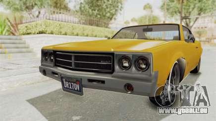 GTA 5 Declasse Sabre GT2 A IVF für GTA San Andreas