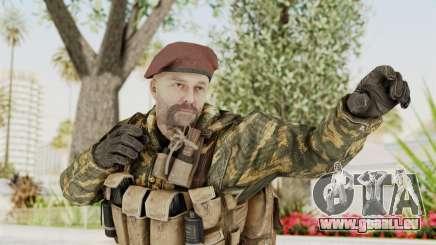 COD Black Ops Russian Spetznaz v7 pour GTA San Andreas