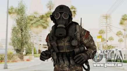 CoD MW3 Russian Military SMG v3 pour GTA San Andreas