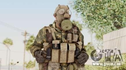 COD Black Ops Russian Spetznaz v6 pour GTA San Andreas