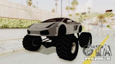 Lamborghini Gallardo 2005 Monster Truck pour GTA San Andreas