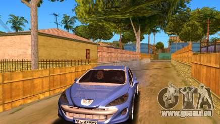 Iranian Peugeot 308 pour GTA San Andreas
