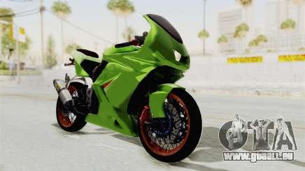 Kawasaki Ninja 250R Asian Style pour GTA San Andreas