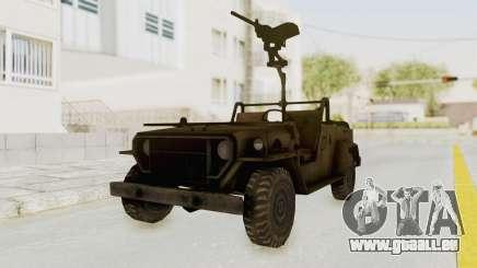 MGSV Jeep pour GTA San Andreas