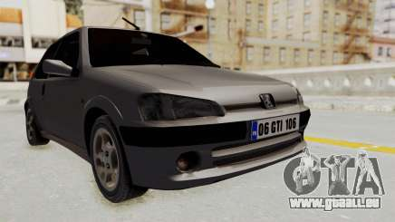 Peugeot 106 GTI Stock pour GTA San Andreas