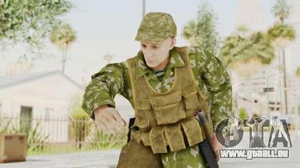MGSV The Phantom Pain Soviet Union Vest v2 pour GTA San Andreas