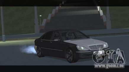 Mercedes S600 W220 JoRick Revazov für GTA San Andreas