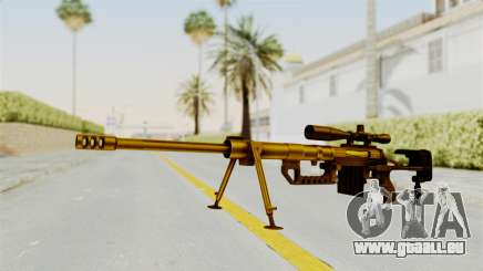 Cheytac M200 Intervention Gold pour GTA San Andreas
