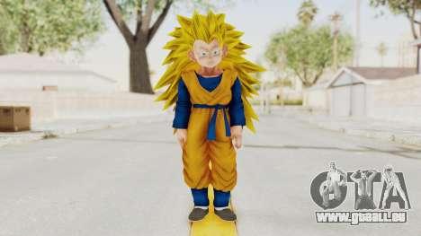 Dragon Ball Xenoverse Goten SSJ3 pour GTA San Andreas deuxième écran