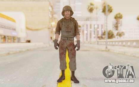 COD BO USA Pilot Vietnam pour GTA San Andreas deuxième écran