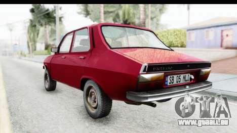 Dacia 1310 TLX v2 für GTA San Andreas zurück linke Ansicht