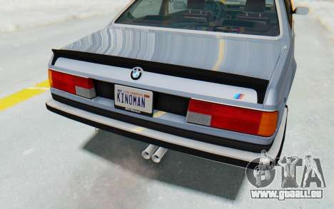 BMW M635 CSi (E24) 1984 IVF PJ1 pour GTA San Andreas salon