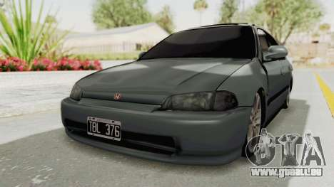 Honda Civic SI Sedan 1992 pour GTA San Andreas
