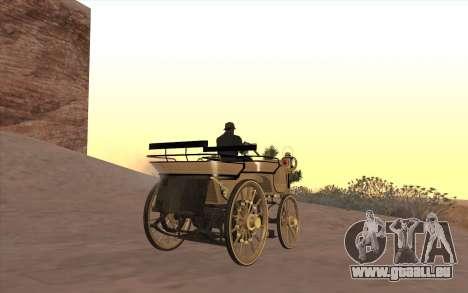 Mercedes-Benz Daimler 1886 für GTA San Andreas linke Ansicht