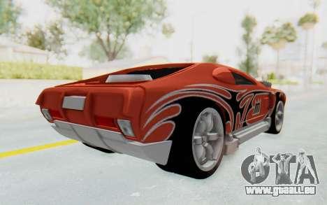 Hot Wheels AcceleRacers 2 pour GTA San Andreas sur la vue arrière gauche