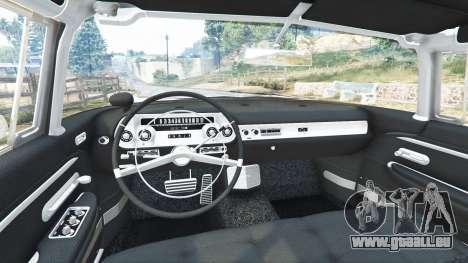 GTA 5 Cadillac Eldorado Brougham 1957 v1.1 vorne rechts Seitenansicht