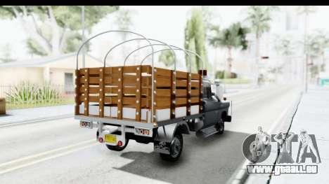 GMC 3100 Diesel für GTA San Andreas zurück linke Ansicht