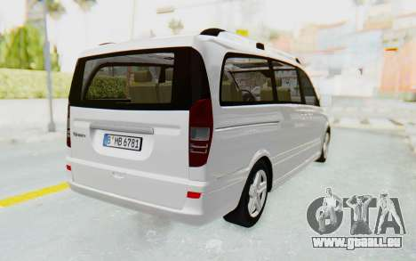 Mercedes-Benz Viano W639 2010 Long Version für GTA San Andreas rechten Ansicht