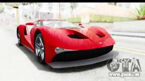 GTA 5 Vapid FMJ IVF pour GTA San Andreas vue de droite