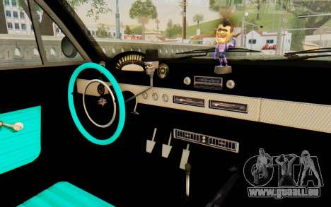 GTA 5 Declasse Voodoo SA Lights für GTA San Andreas Rückansicht
