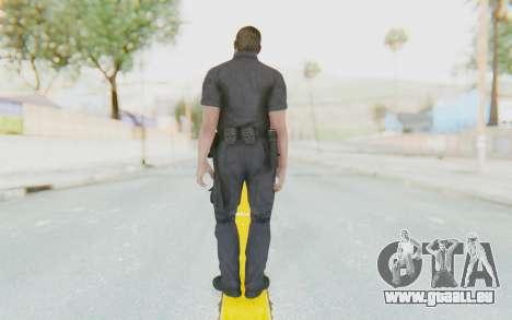 CoD BO2 LAPD v3 für GTA San Andreas dritten Screenshot