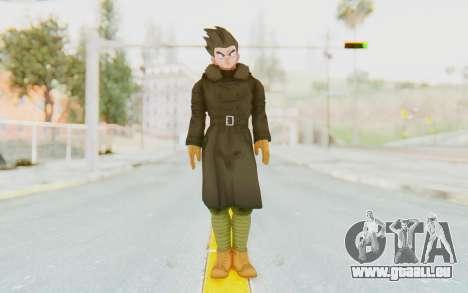Dragon Ball Xenoverse Goten Time Patrol für GTA San Andreas zweiten Screenshot