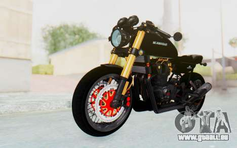 Kawasaki Z1000 Moghe Cafe Racer für GTA San Andreas rechten Ansicht