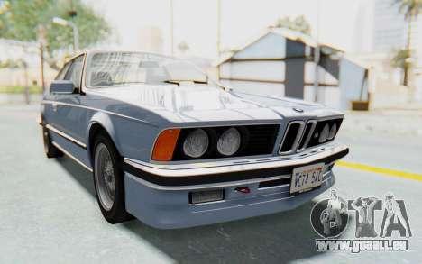 BMW M635 CSi (E24) 1984 IVF PJ1 für GTA San Andreas