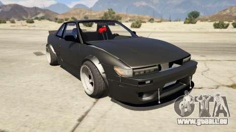 Nissan Silvia S13 6666 Rocket Bunny 1.7 für GTA 5